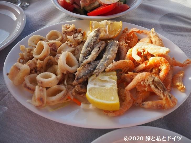レストラン「Jonna's Nikos place」のメニュー