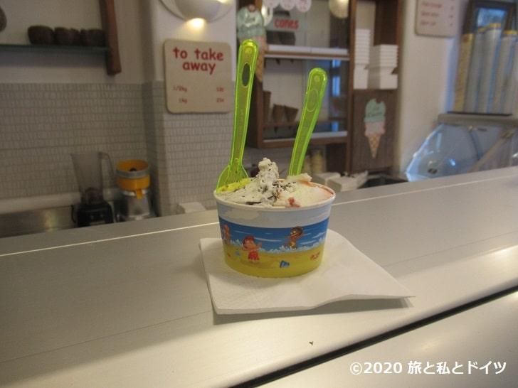 ISCREAM homemade ice cream-cafe