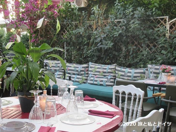 レストラン「belleamie」