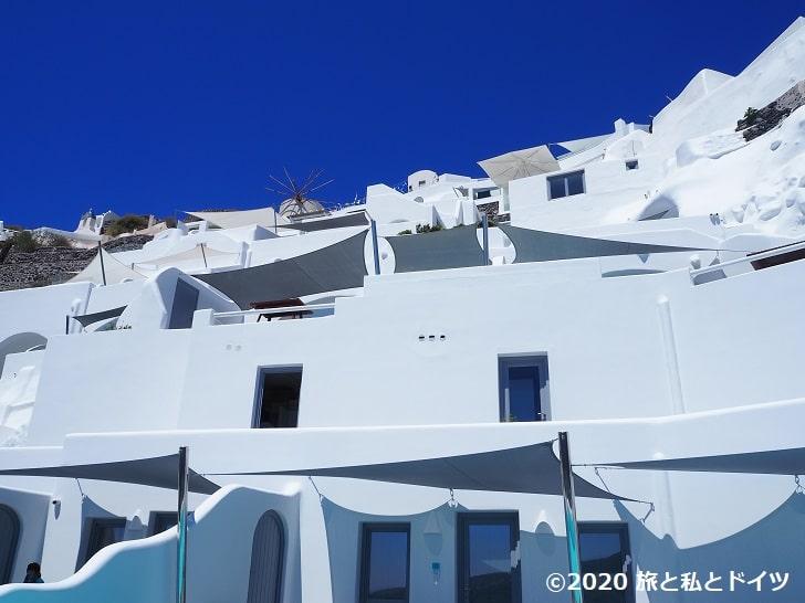 ホテル「Maregio Suites」の外観