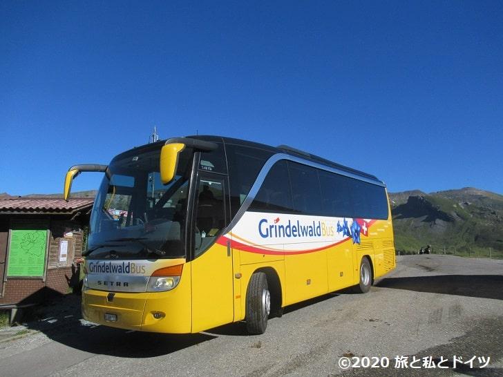 グリンデルワルトのローカルバス