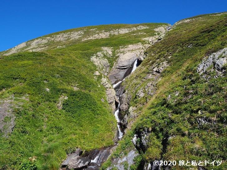 グロッセシャイデック→フィルストのハイキングコース