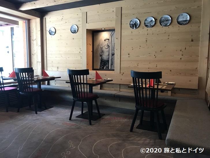 「セントラルホテルヴォルター」のレストラン