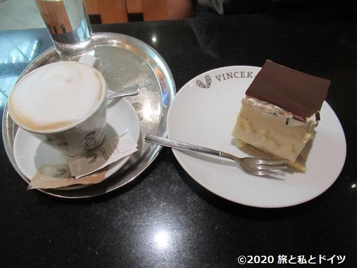「ヴィンツェック」のケーキ
