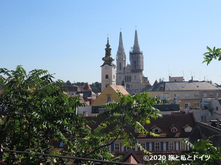 ザグレブの風景