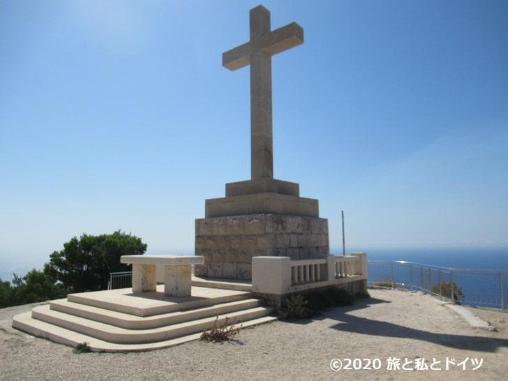 スルジ山にある十字架