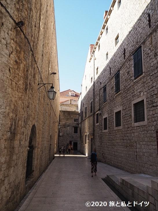 ドブロブニク旧市街の風景