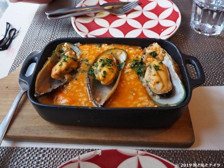 レストラン「ribeira square」のシーフードリゾット